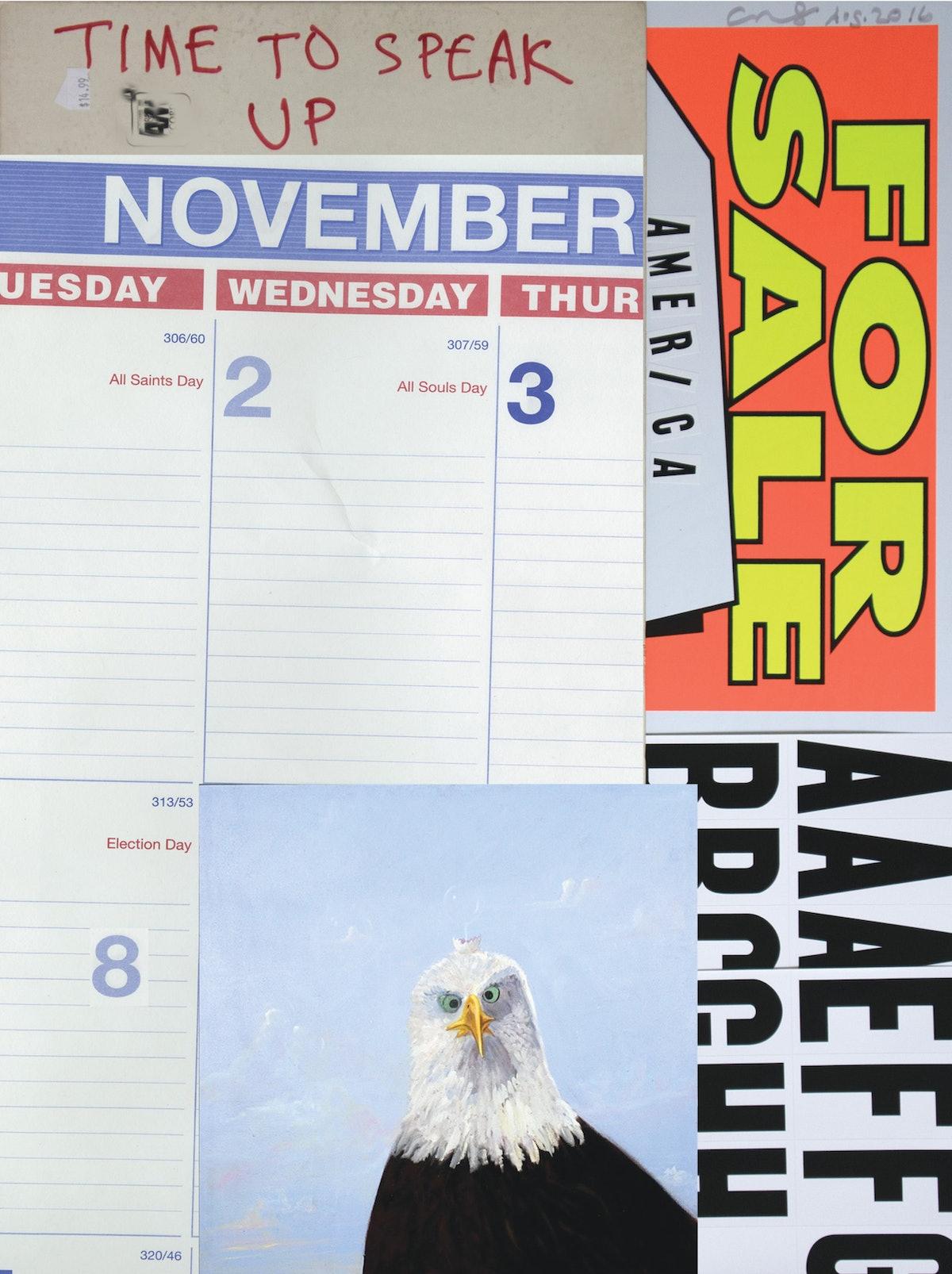 November Political Poster