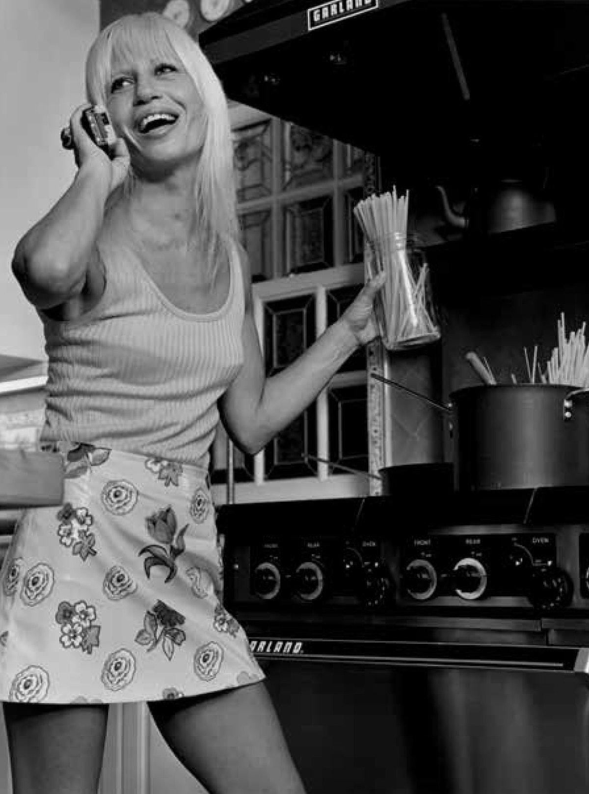 Blonde Ambition - Calendar - November - Donatella Versace