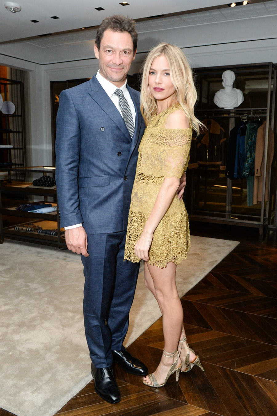 Dominic West and Sienna Miller host the celebration of `The Tale of Thomas Burberry' at Burberry Soho_002.jpg