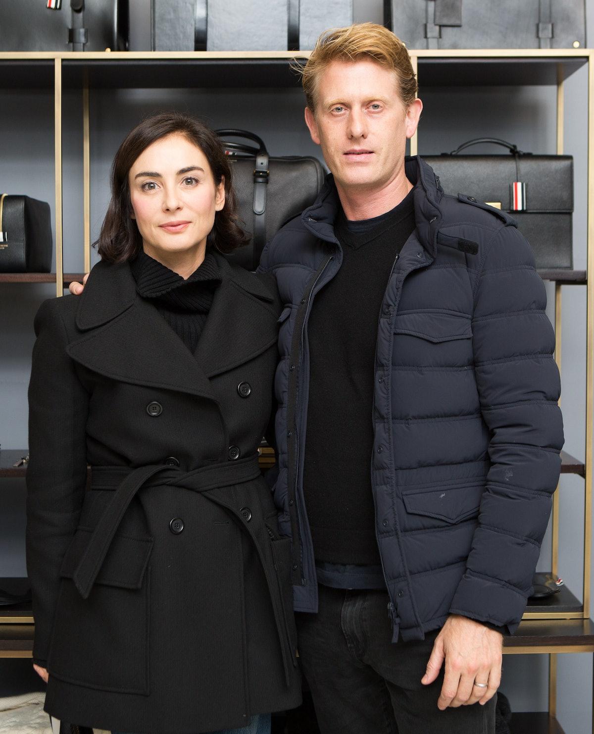 Francesca Amfitheatrof, Ben Cohen.jpg