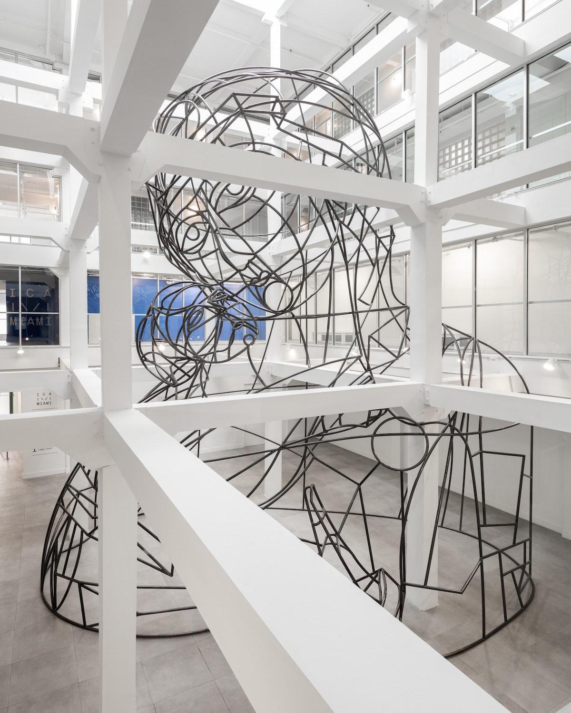 Wire Madonna Installation View.jpg