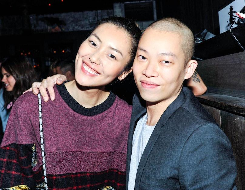 Liu Wen and Jason Wu