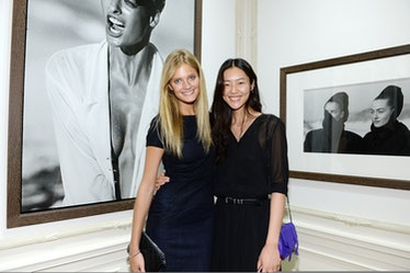 Constance Jablonski and Liu Wen