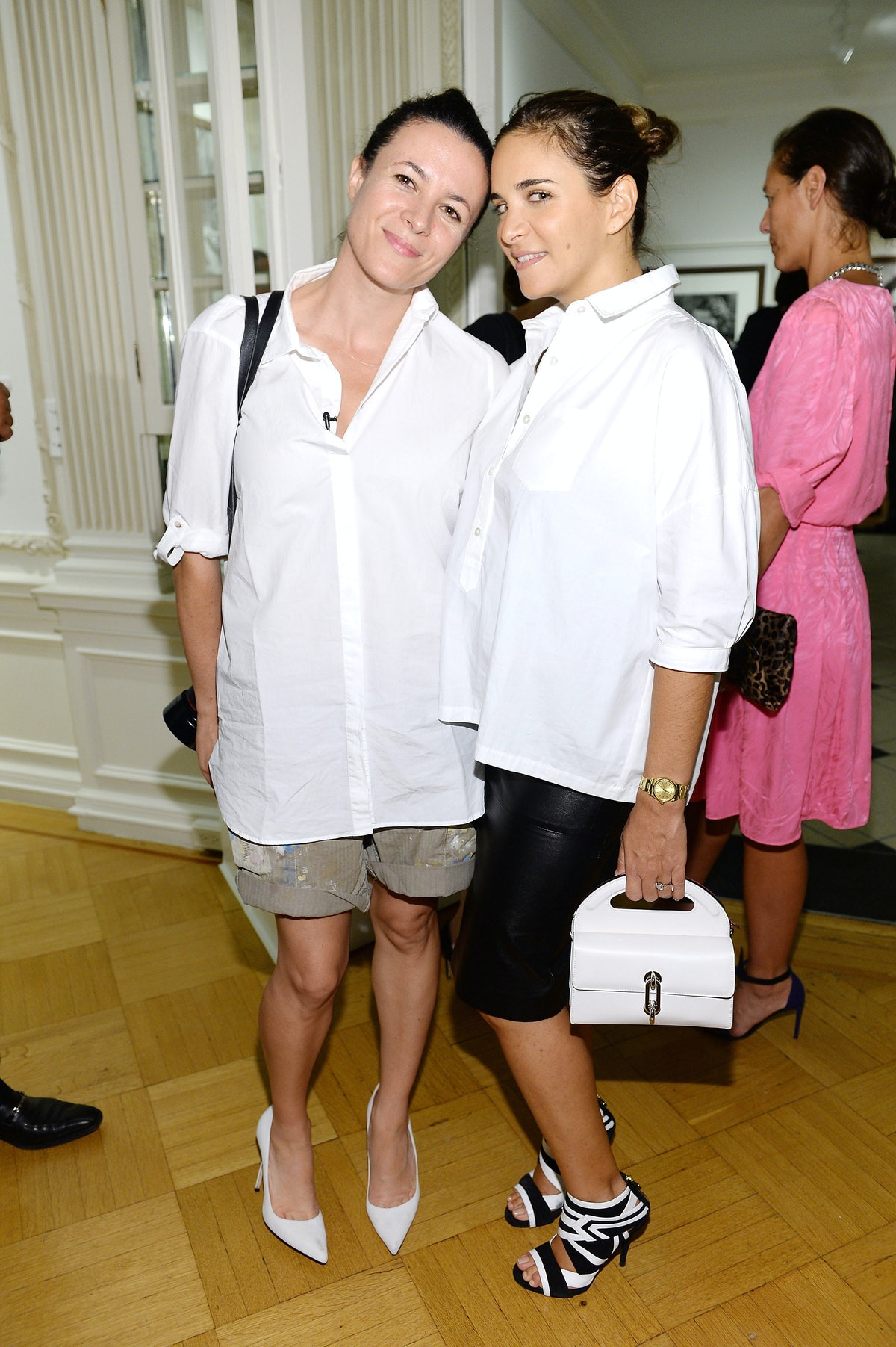 Garance Dore and Laure Heriard Dubreuil