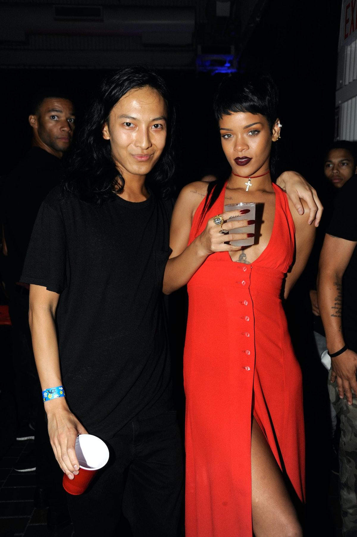 Alexander Wang and Rihanna