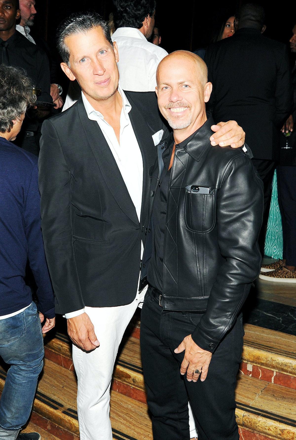 Stefano Tonchi and Italo Zucchelli