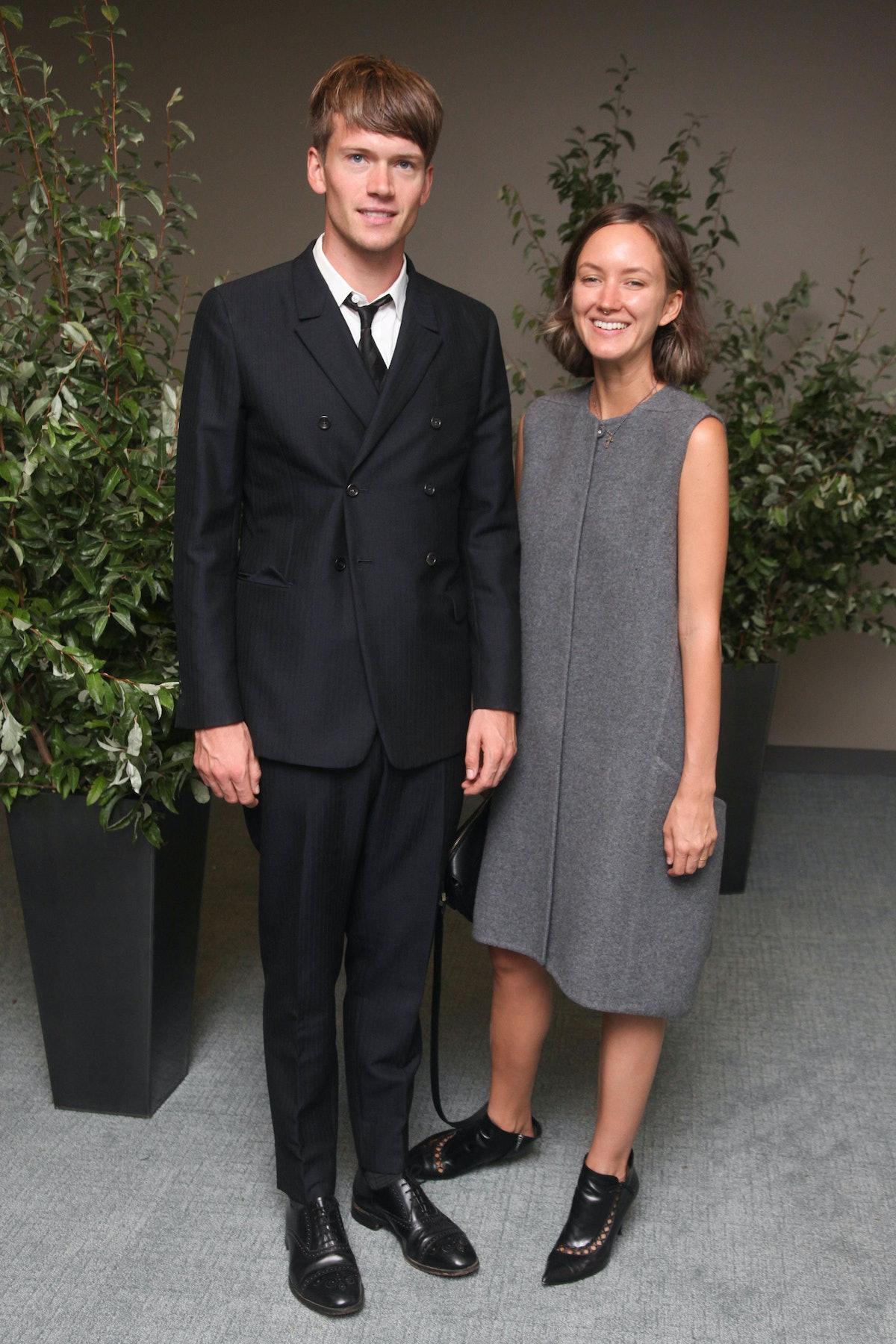 Tom Guinness and Rachel Chandler