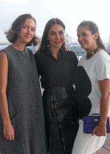 Rachel Chandler Guinness, Fabiola Beracasa, Laure Heriard Dubreuil