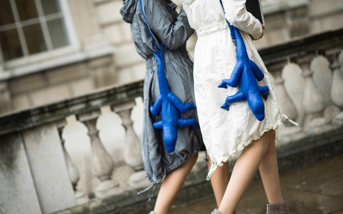 London Fashion Week Spring 2014 Street Style, Day 1