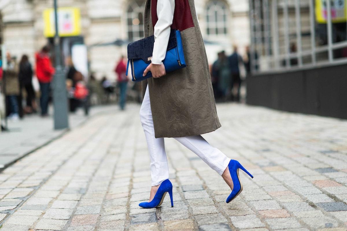 London Fashion Week Spring 2014 Street Style, Day 2