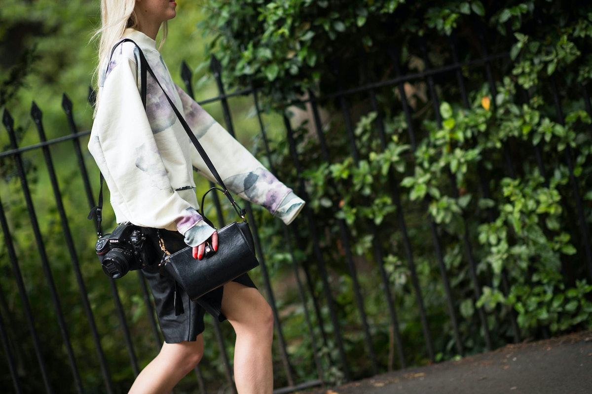 London Fashion Week Spring 2014 Street Style, Day 3