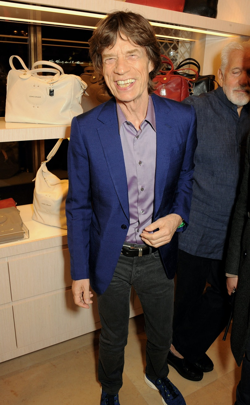 lonchamp-store-opening-london-fashion-week-mick-jagger