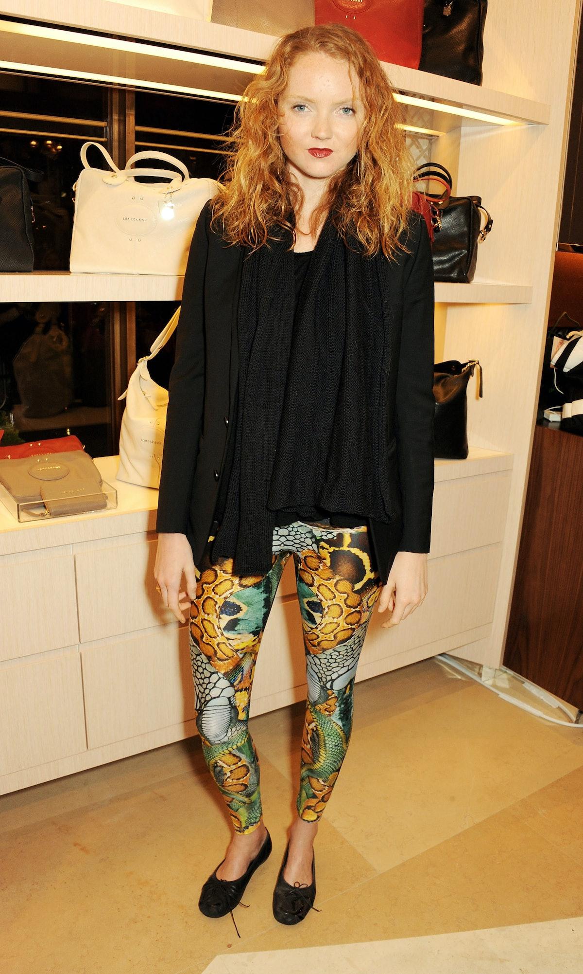lonchamp-store-opening-london-fashion-week-Lily-Cole