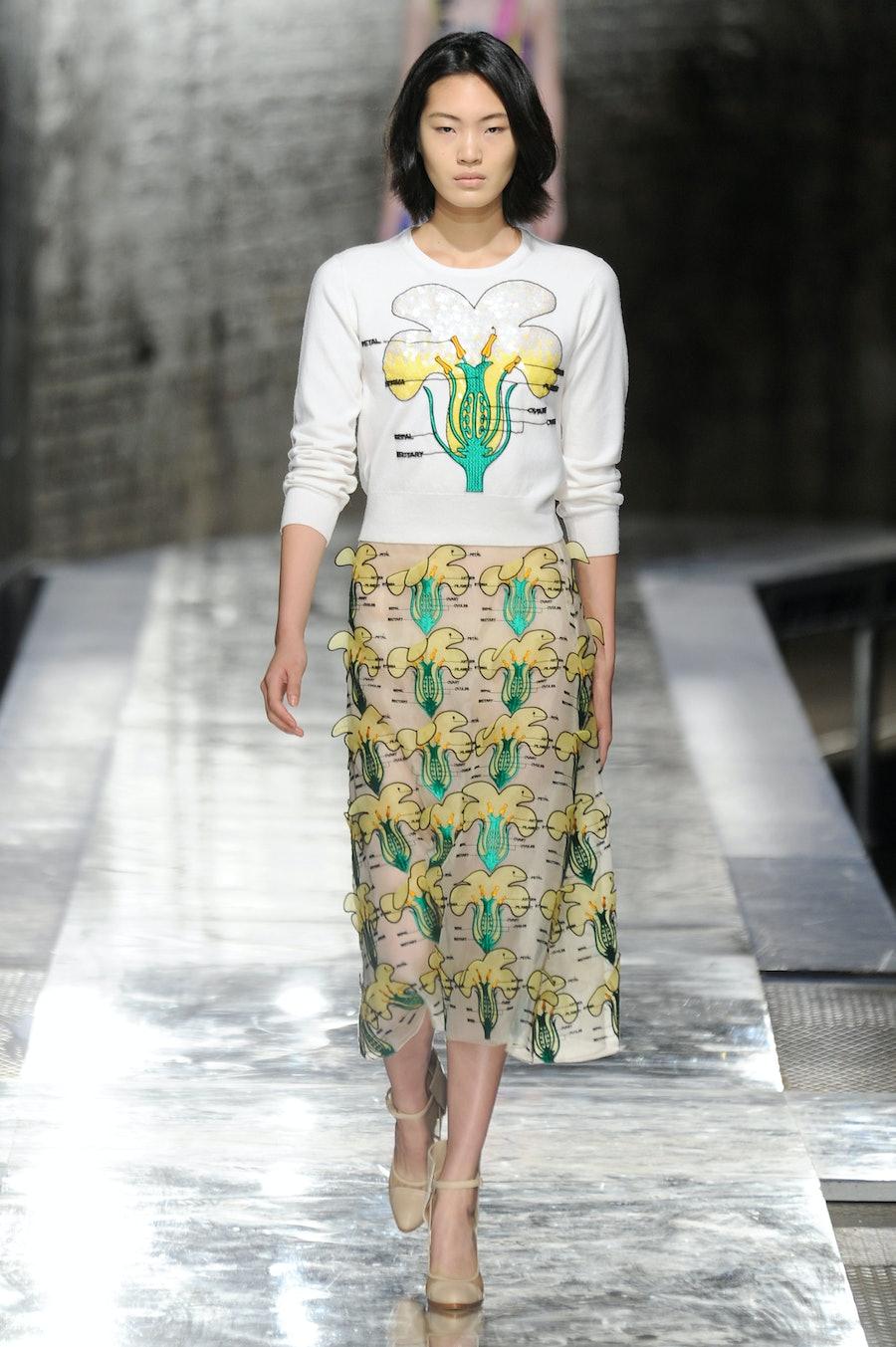 Christopher-Kane-Spring-2014-floral-dress