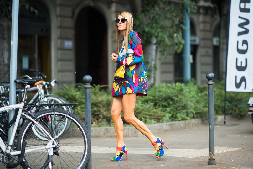 Milan Fashion Week Spring 2014 Street Style, Day 4