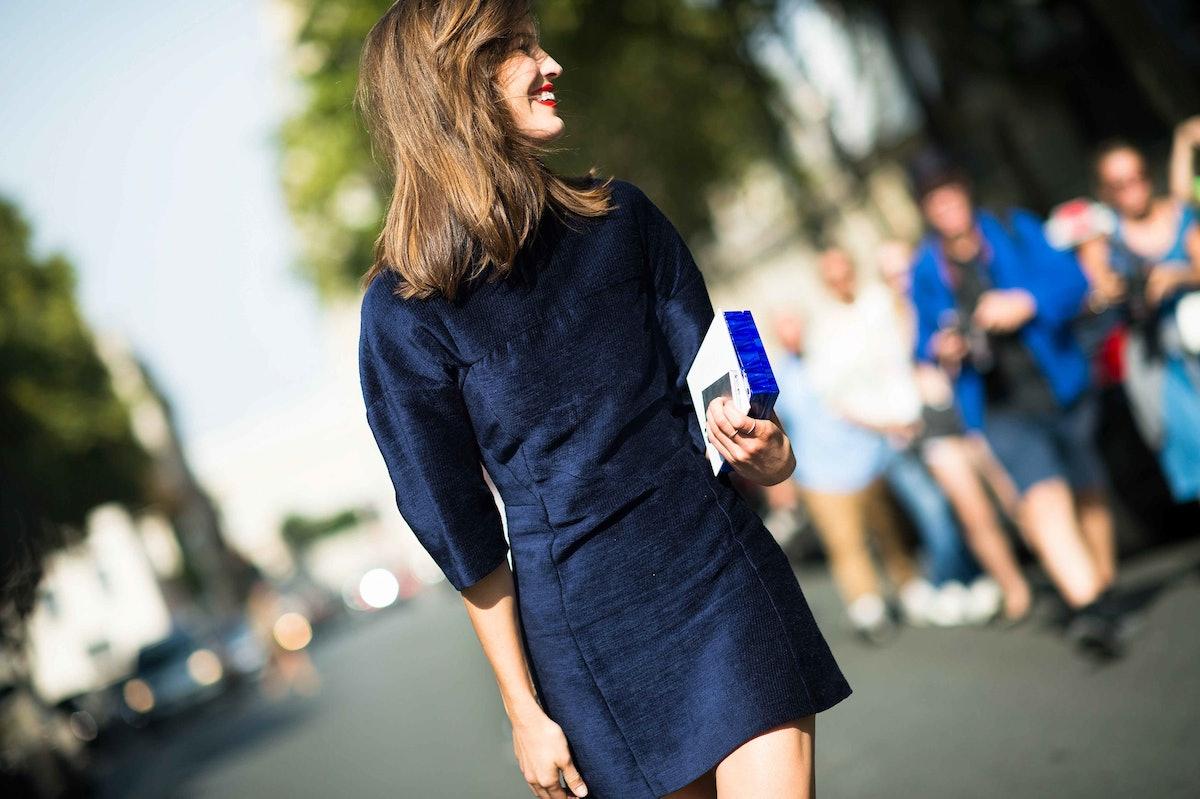 Paris Fashion Week Spring 2014 Street Style, Day 3