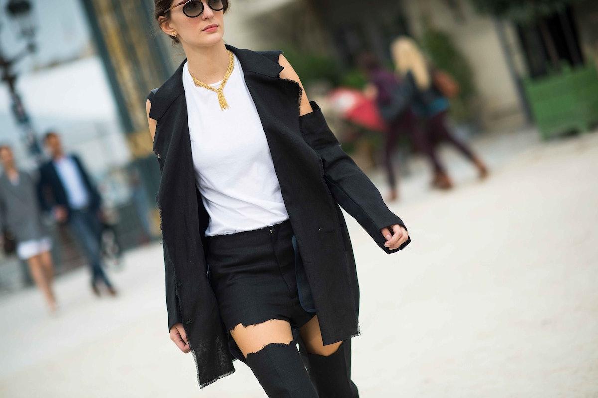 Paris Fashion Week Spring 2014 Street Style, Day 4