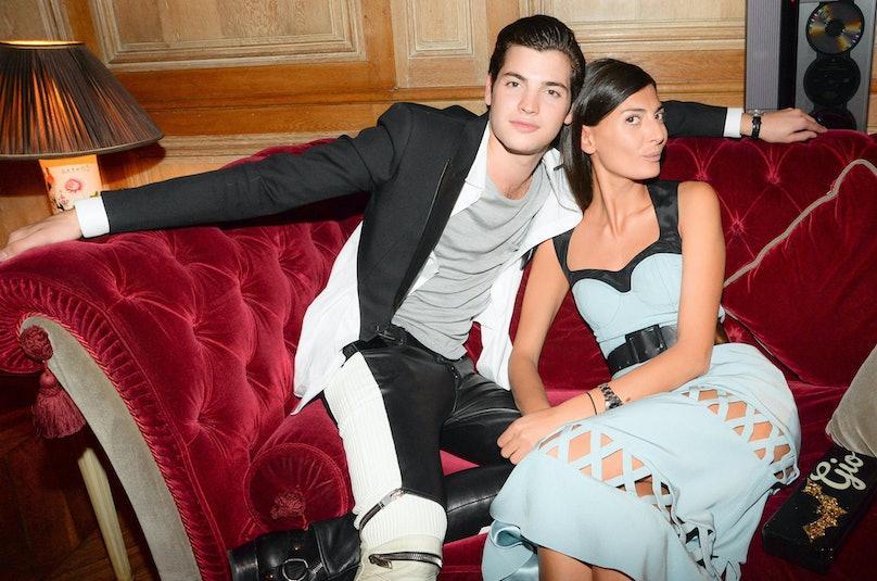 Peter Brant Jr. and Giovanna Battaglia. Photo by BFAnyc.com.