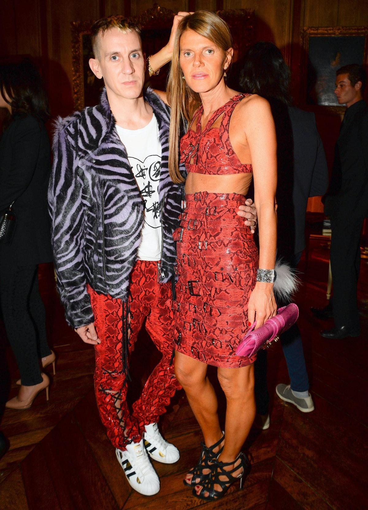 Jeremy Scott and Anna dello Russo. Photo by BFAnyc.com.