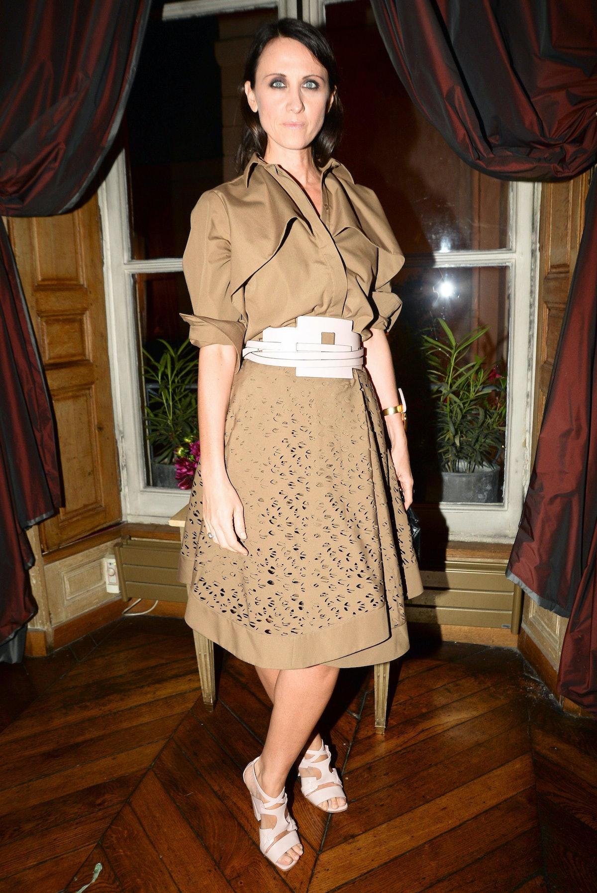 Alessandra Facchinetti. Photo by BFAnyc.com.