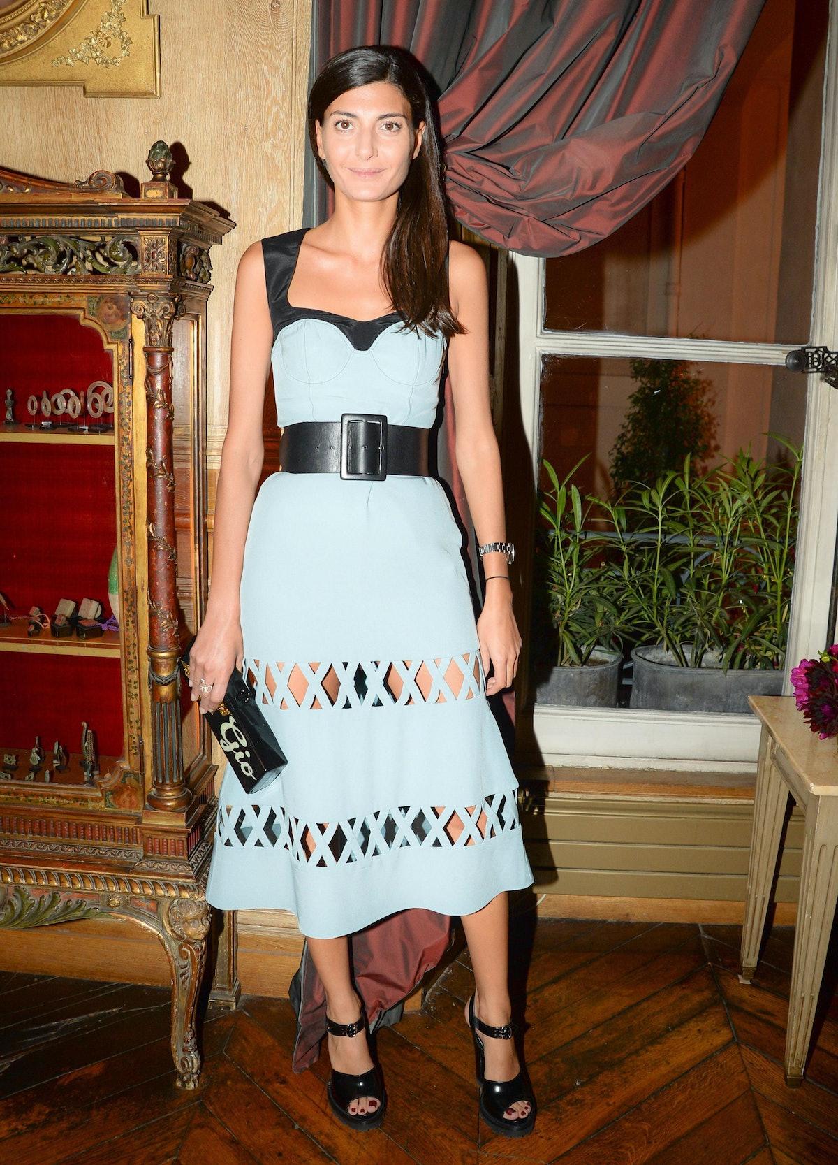 Giovanna Battaglia. Photo by BFAnyc.com.