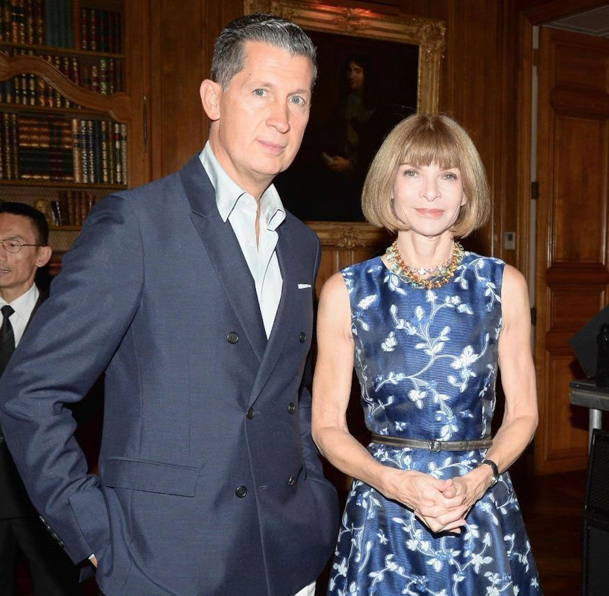 Stefano Tonchi and Anna Wintour. Photo by BFAnyc.com.