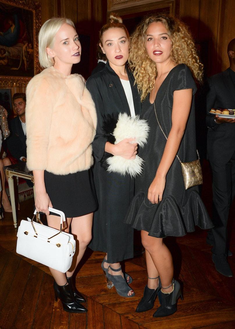 Caitlin Moe, Mia Moretti, and Cloe Wade. Photo by BFAnyc.com.