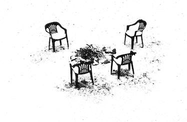 Erik-Madigan-Heck,-Winter-Chairs,-Minnesota