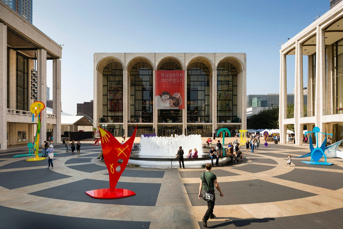 Aaron Curry at Lincoln Center