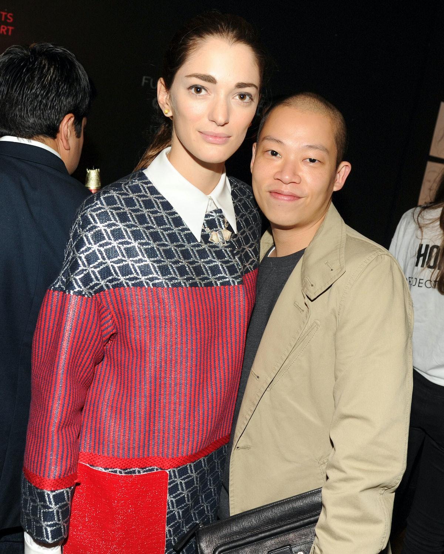 Sofia Sanchez Barrenechea and Jason Wu
