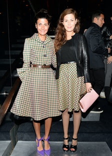Giovanna Battaglia and Sara Battaglia. Photo by BFAnyc.com.