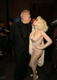 Jean Paul Gaultier and Amanda LePore