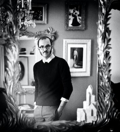 Marco Zanini in the Schiaparelli headquarters in Paris.