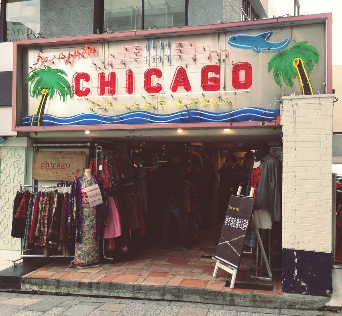 Chicago thrift store in Shimokitazawa
