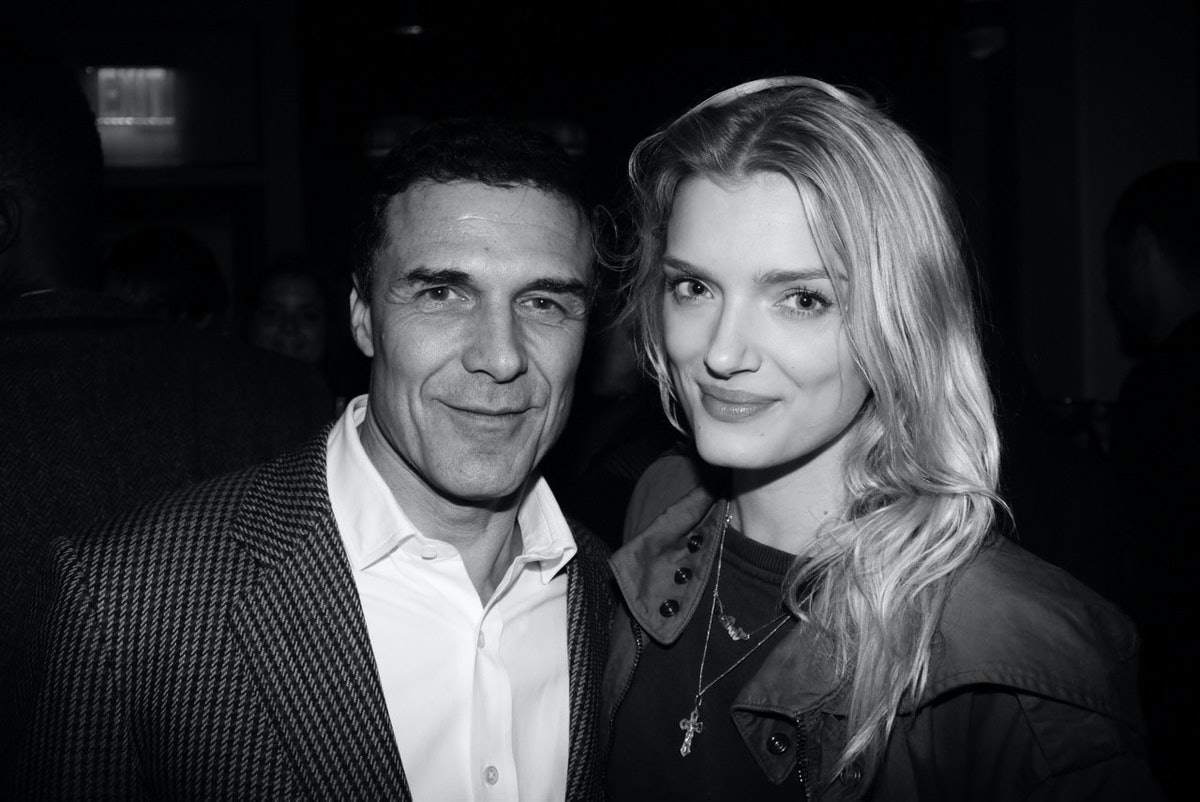 Andre Balazs and Lily Donaldson