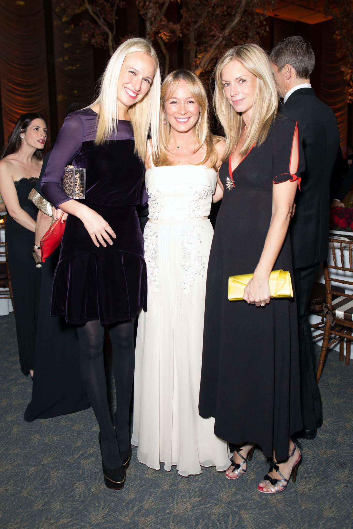Misha Nonoo, Cynthia Cook Smith, and Meredith Melling Burke