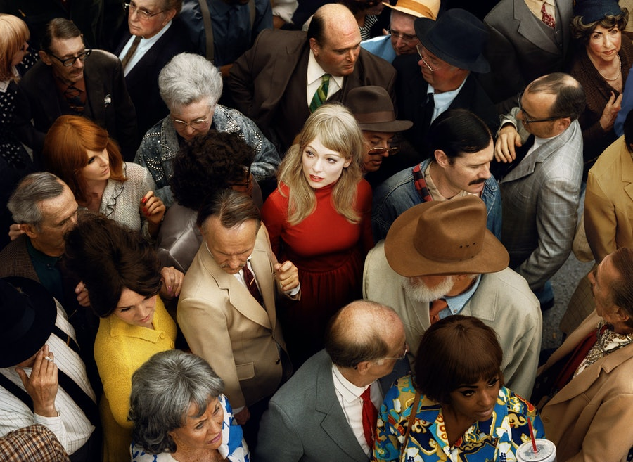 *Crowd #2 (Emma)*, 2012