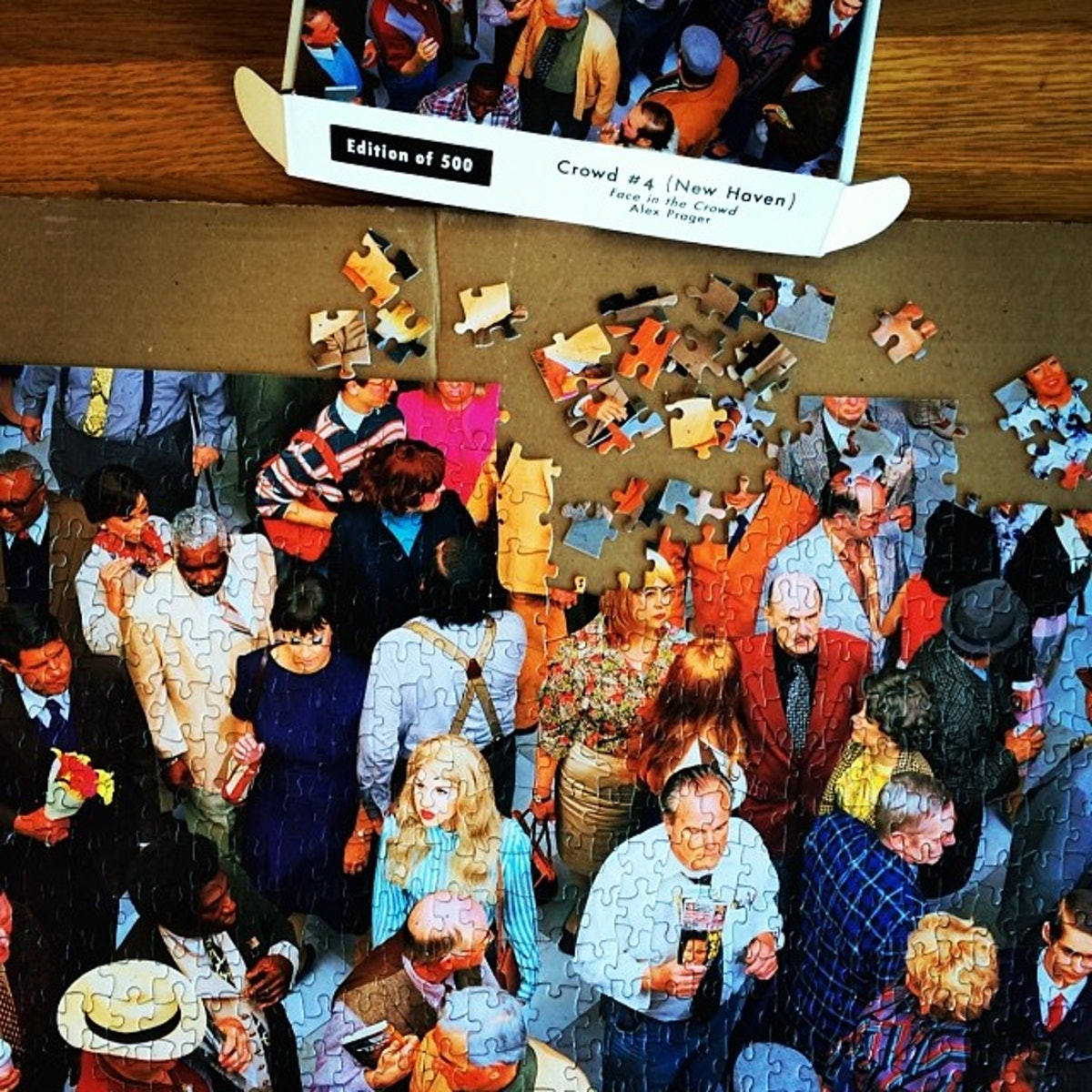 """""""Where there's a crowd there's a puzzle."""" Photo by Alex Prager."""