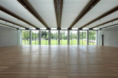 Renzo Piano's extension.