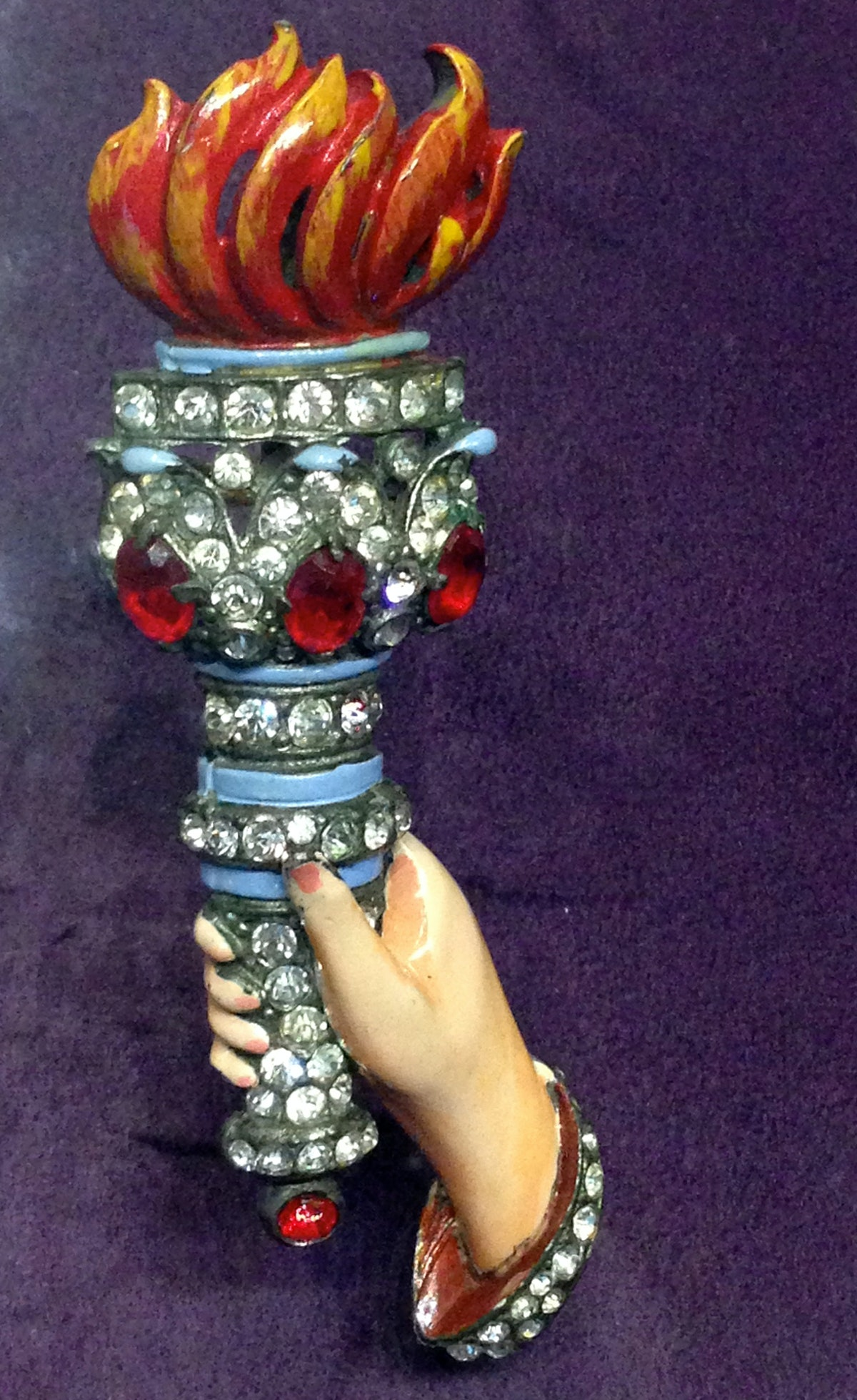 Barbara Berger's fabulous collection of costume jewelry