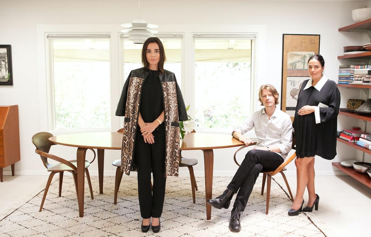 Elodie Bouchez, Justin Kern, and Stephanie Danan