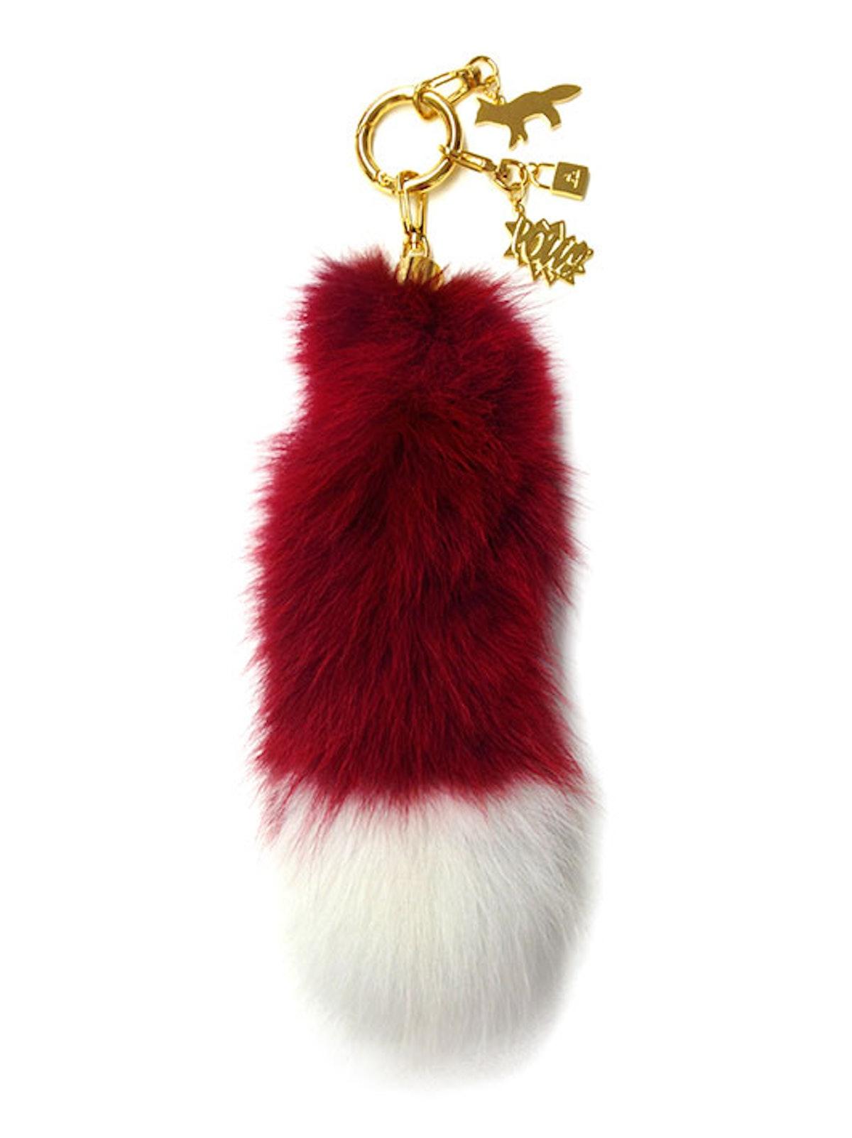 Real Fur Key Chain by AMBUSH Design x Maison Kitsuné