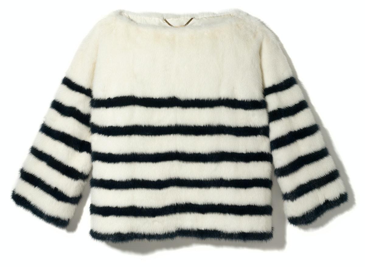 Louis Vuitton top, $9,425, select Louis Vuitton stores.