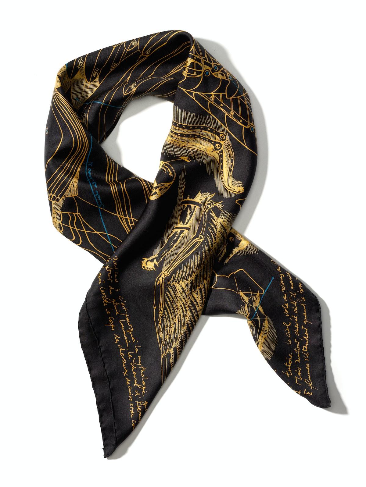 Hermès scarf, $410, hermes.com.