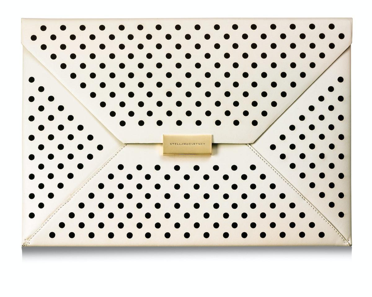 Stella McCartney clutch, $995, net-a-porter.com.