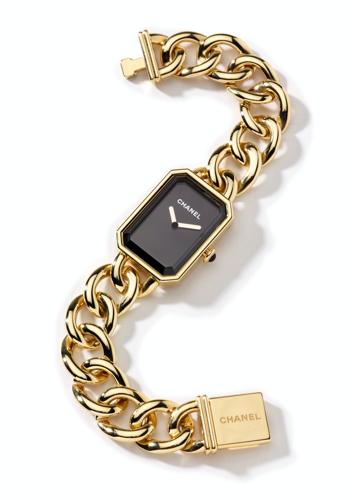 Chanel Watch gold watch, $24,500, Chanel Fine Jewelry.