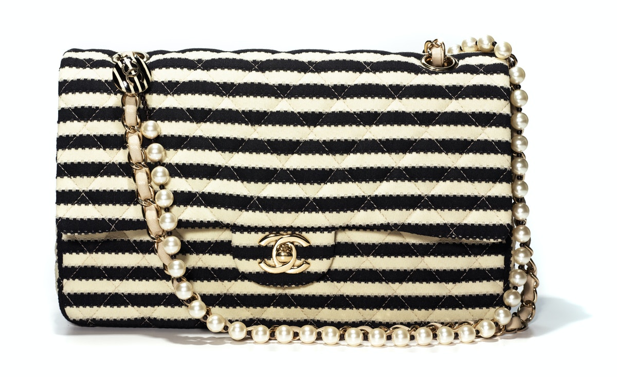 Chanel bag, $3,800, select Chanel stores.