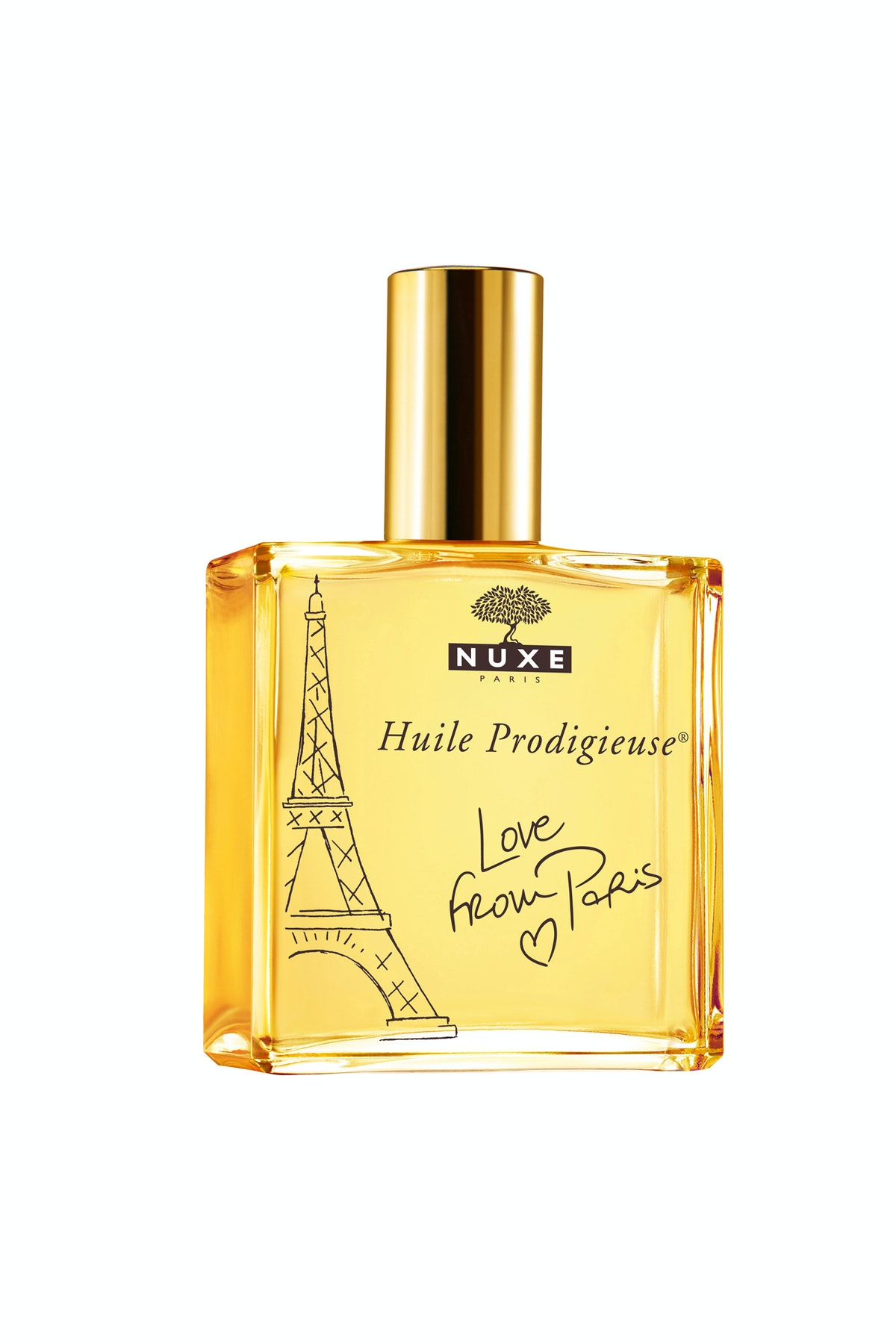Nuxe Huile Prodigieuse limited edition dry oil, $45, nuxe.com.