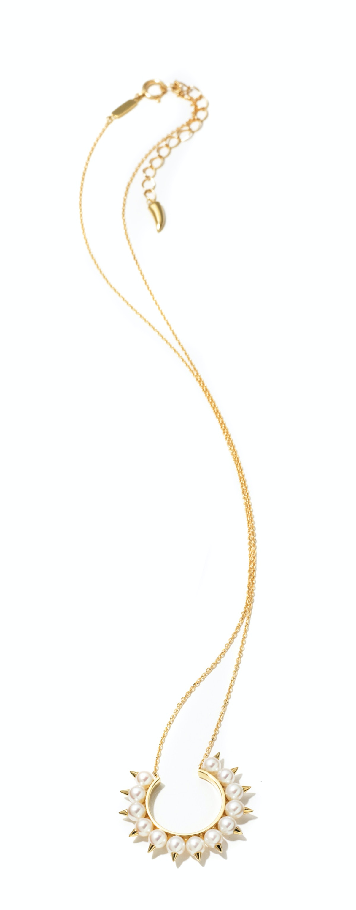 Tasaki Collection by Thakoon gold and freshwater pearl necklace, $2,400, Forty Five Ten, Dallas.