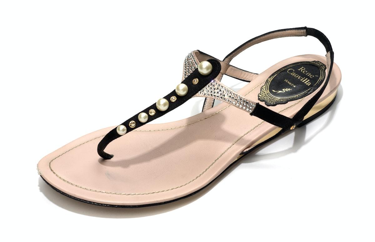René Caovilla sandals, $795, neimanmarcus.com.